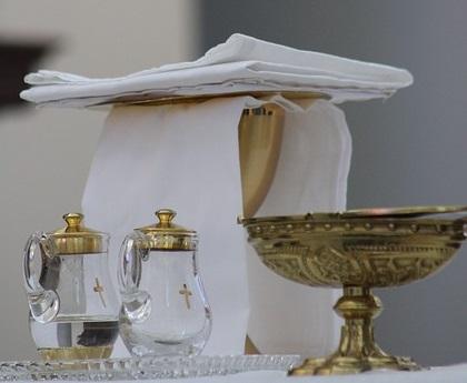 Naczynia liturgiczne – lista