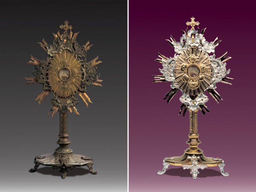 Renowacja naczyń liturgicznych