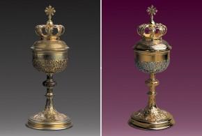 Naczynia liturgiczne niezbędne w liturgii ślubnej
